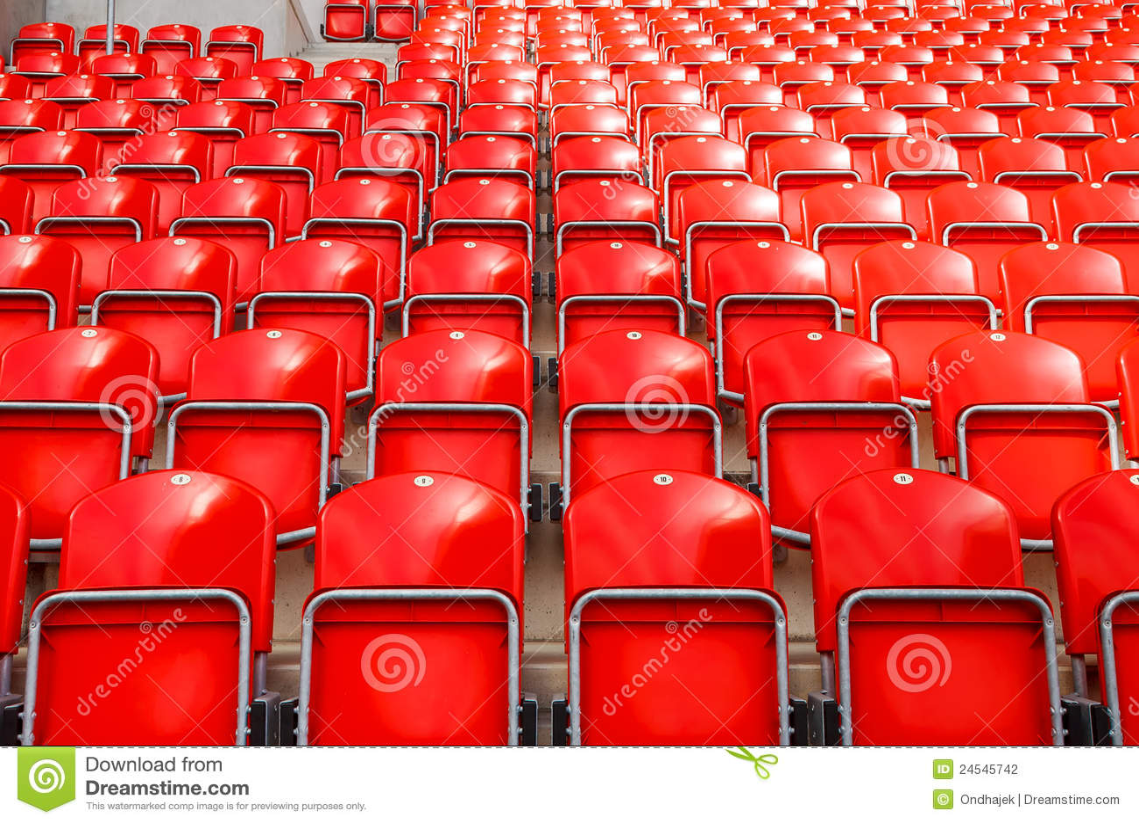 soccer stadium stock photo  image of empty  grass  bench
