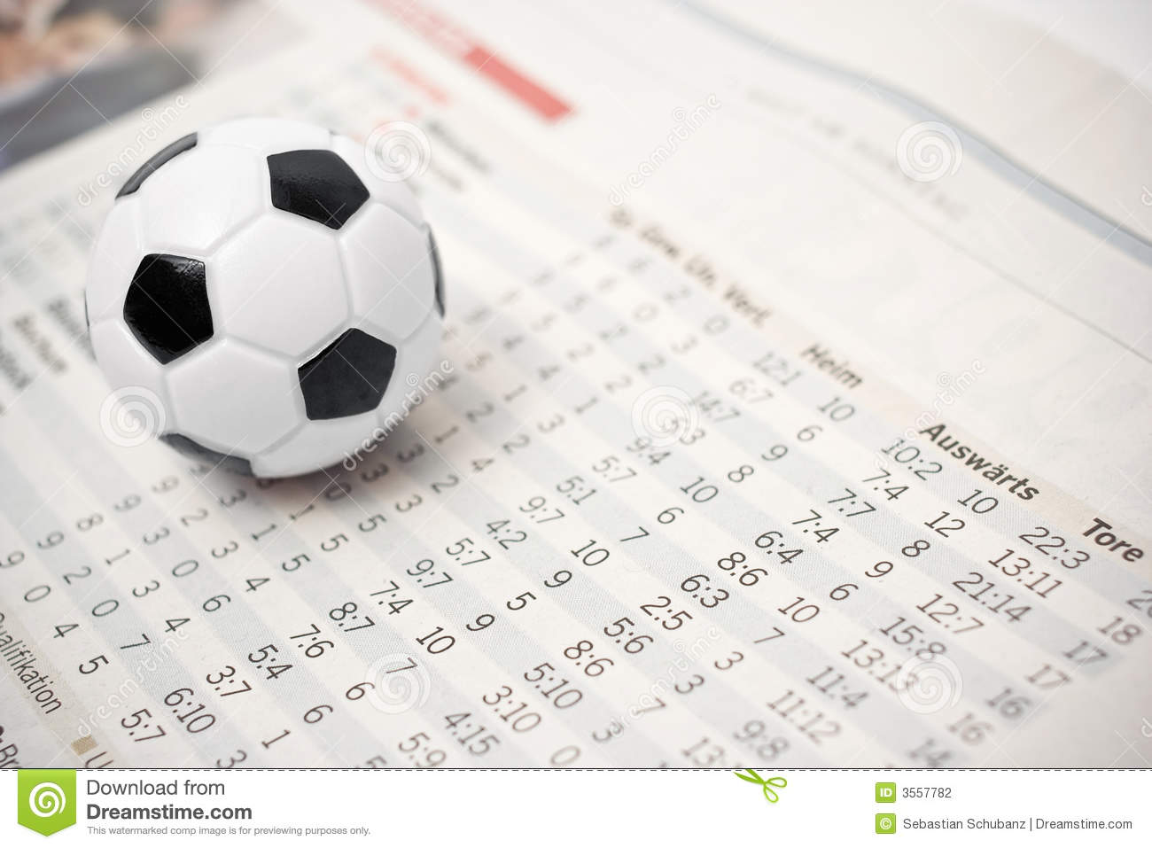Soccer stats stock photo  Image of entertainment, printed - 3557782