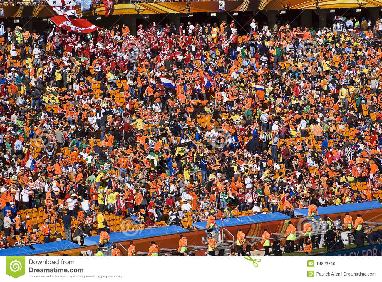 Soccer Supporters at Soccer City - FIFA WC