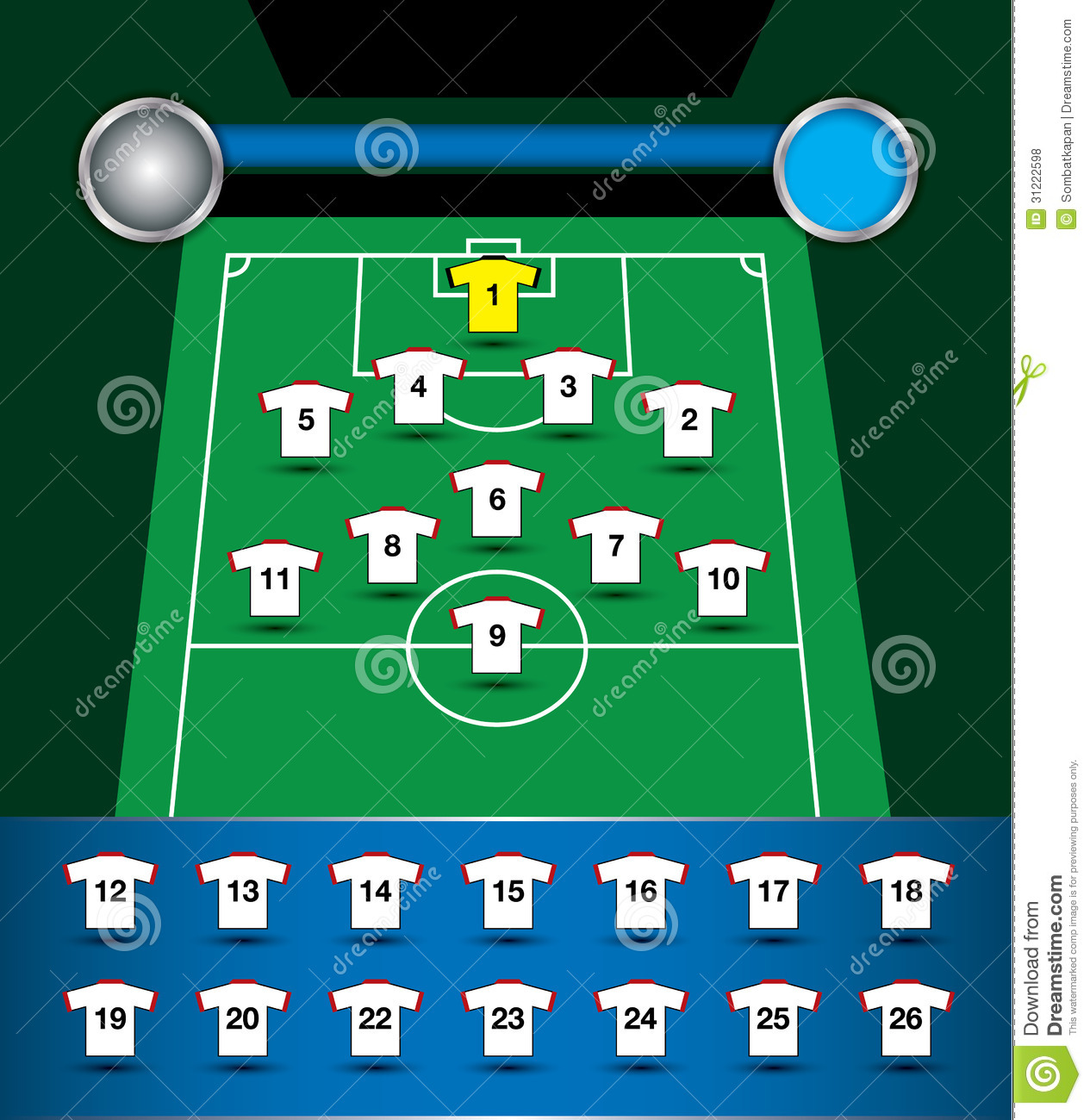 Soccer Player Field Positions Diagram Wiring Diagrams