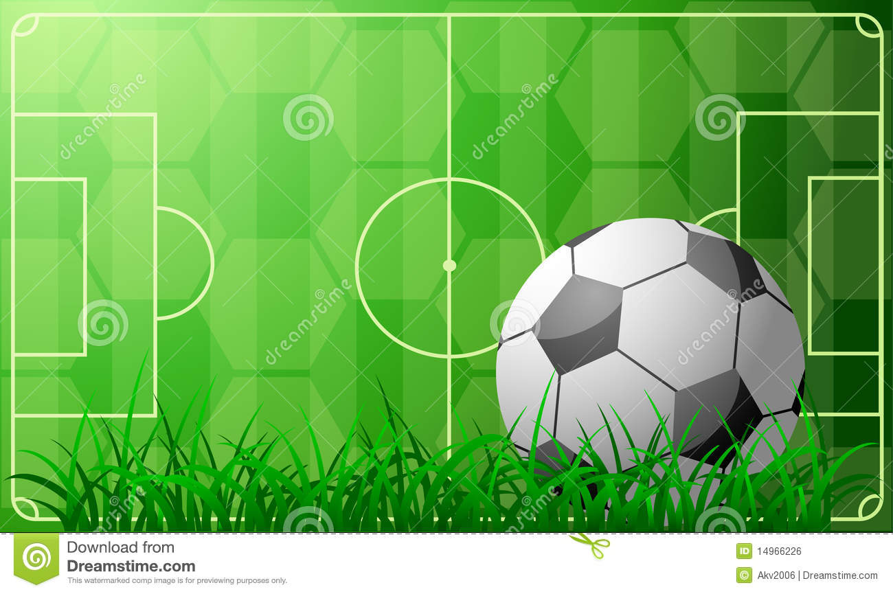 soccer theme royalty free stock image
