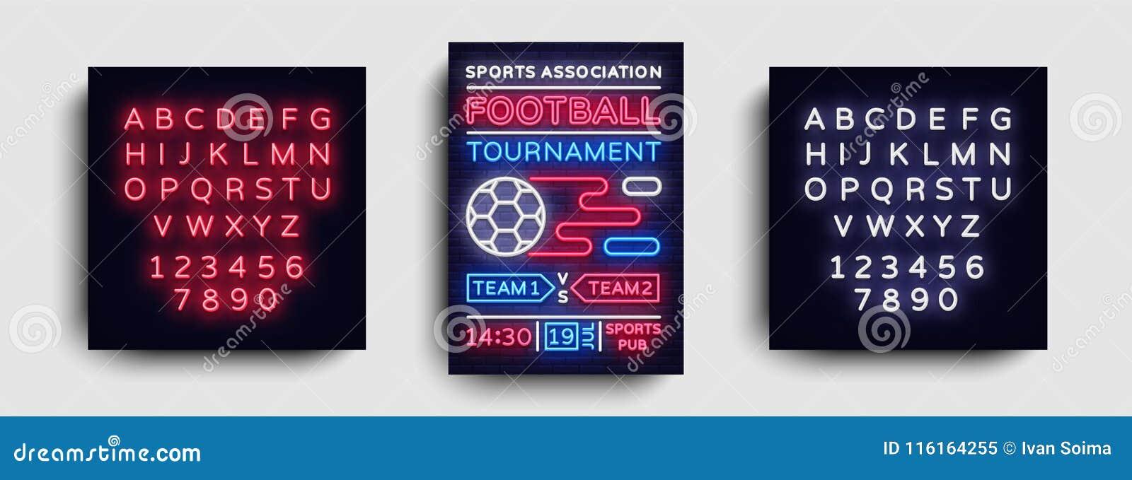 Soccer Tournament Flyer Vector European Football Championship