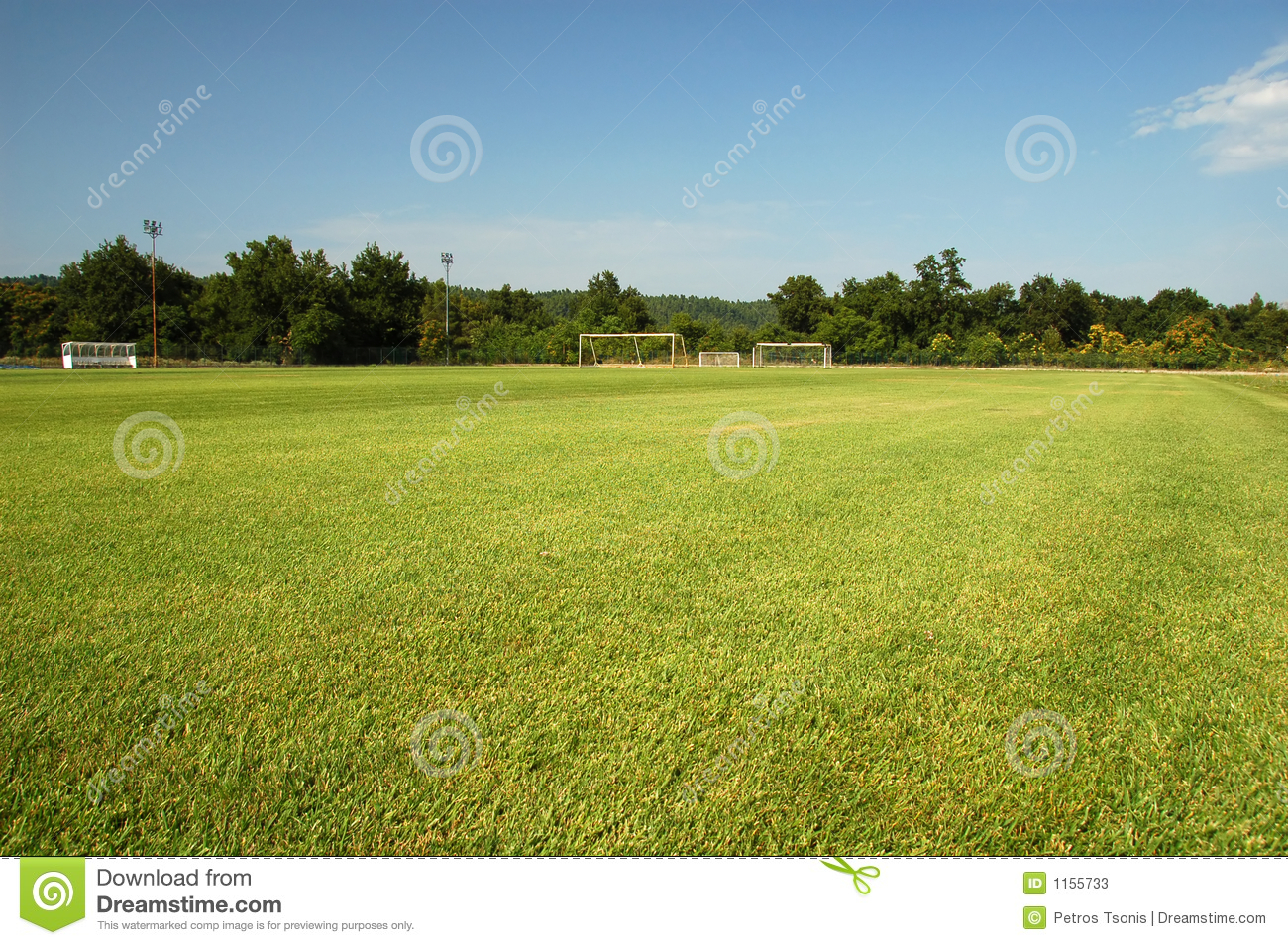 soccer training grounds stock photos image 1155733