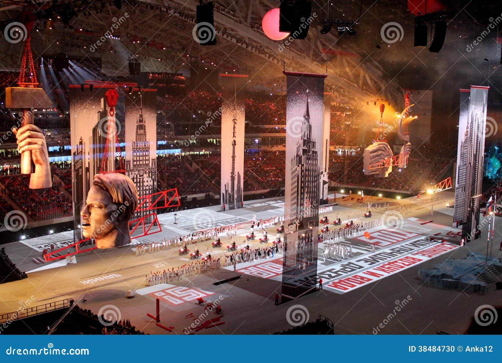 SOCHI ROSJA, LUTY, - 7, 2014: wizerunek Moskwa drugi
