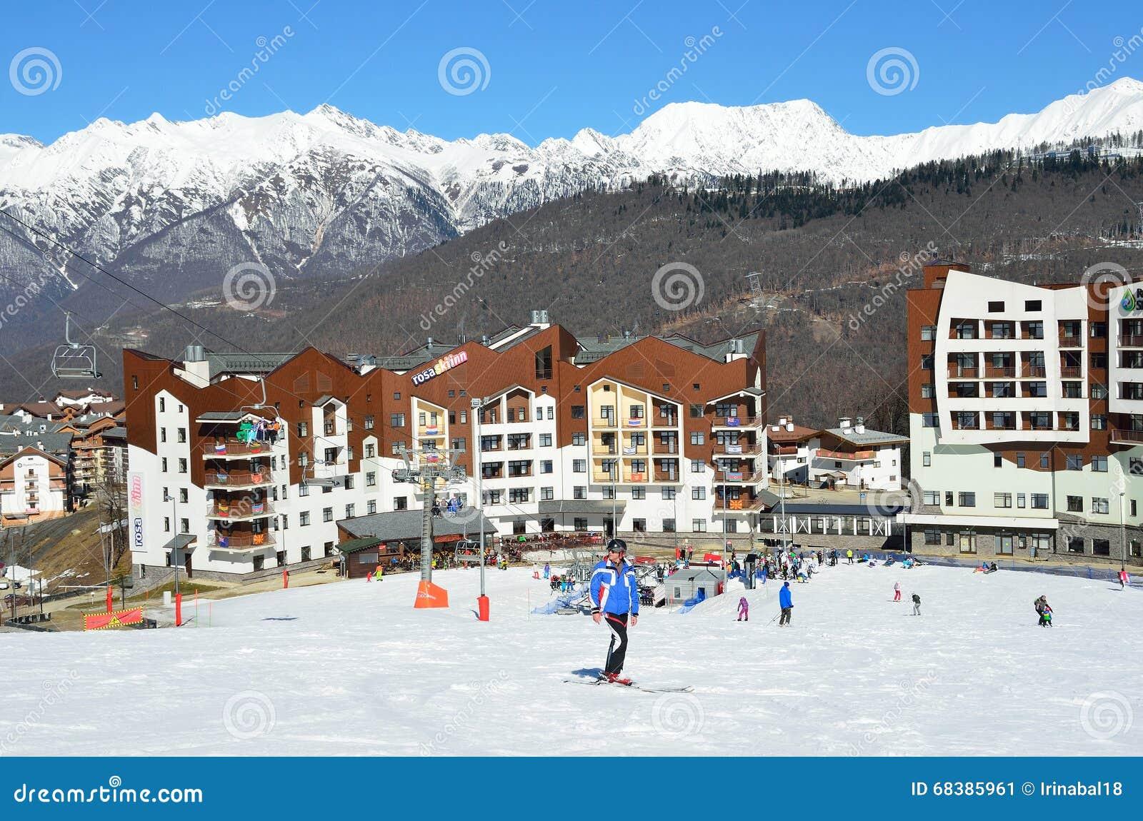 Ski Resort Rosa Khutor: reviews about skiing, ski slopes and hotels