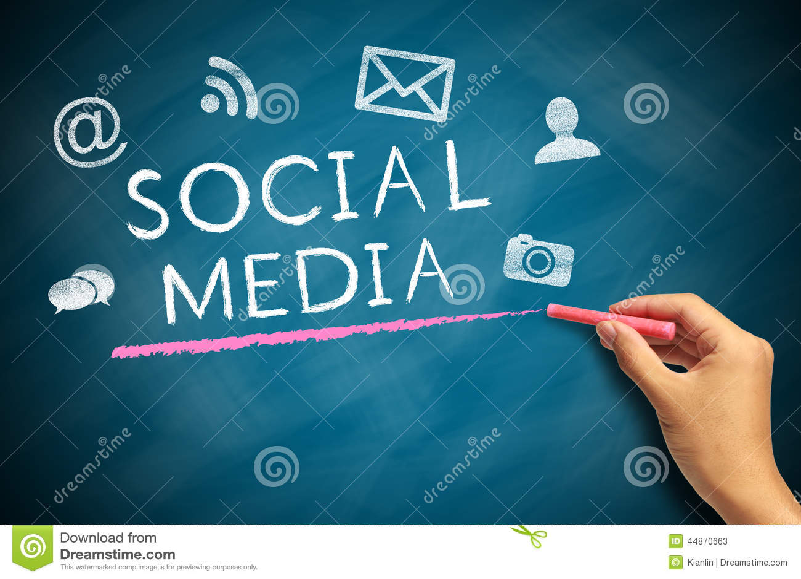 Sociaal media concept