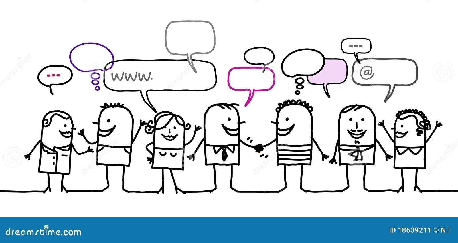 Social людей сети