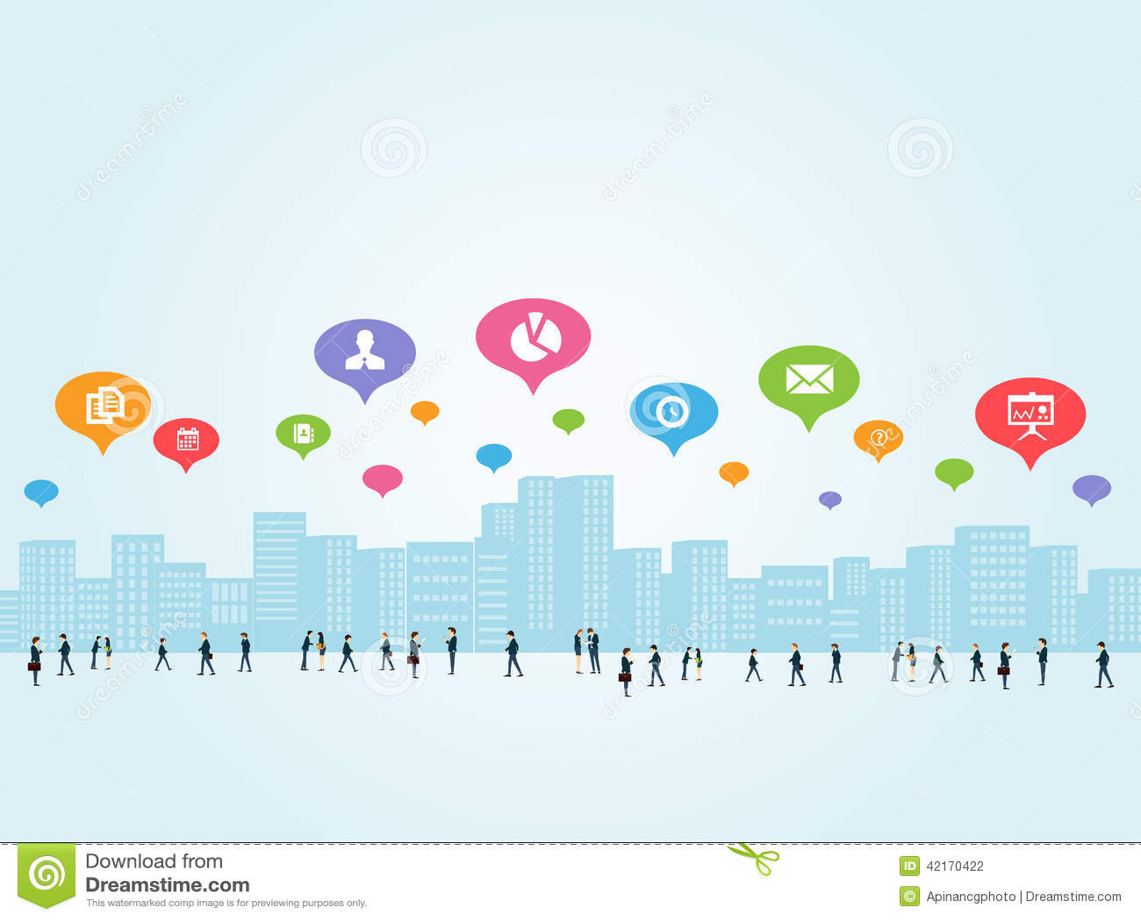 Social affärskommunikation
