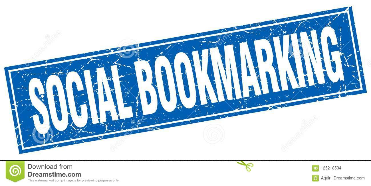 social bookmarking stamp