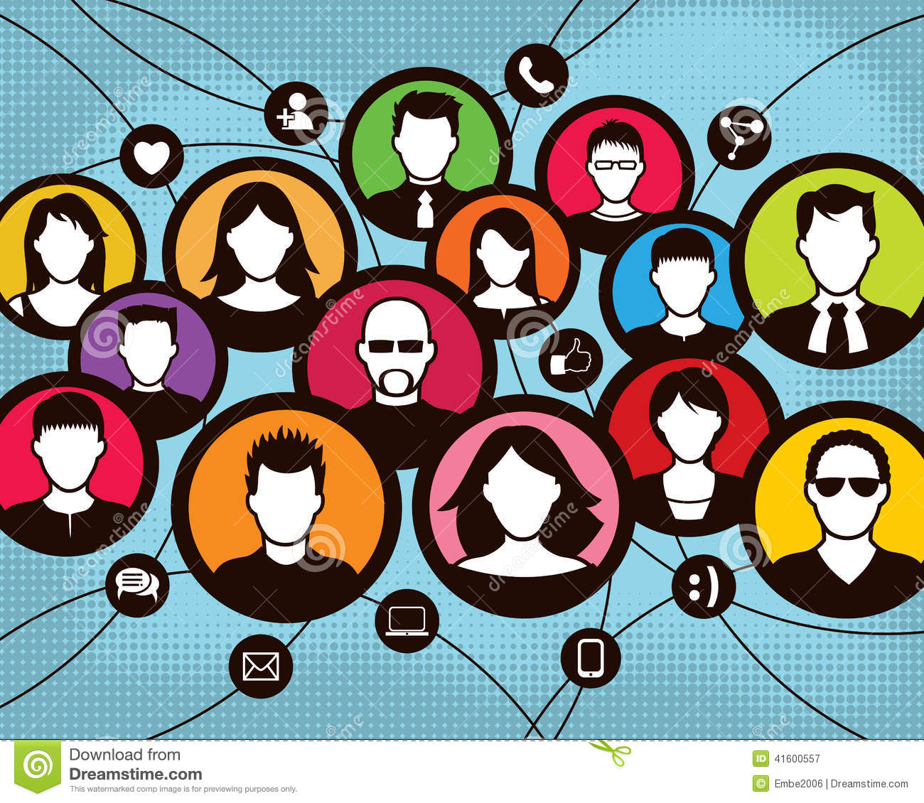 Social Communication Group People