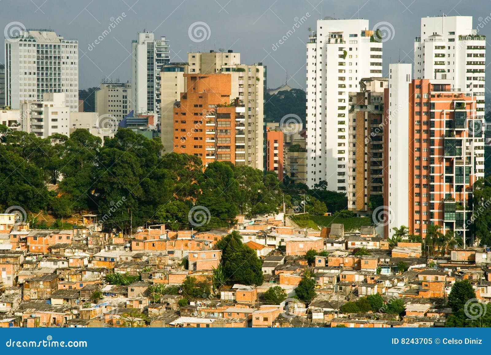 Paysage urbain de sao paulo image stock image 8243705 for Paysage de ville