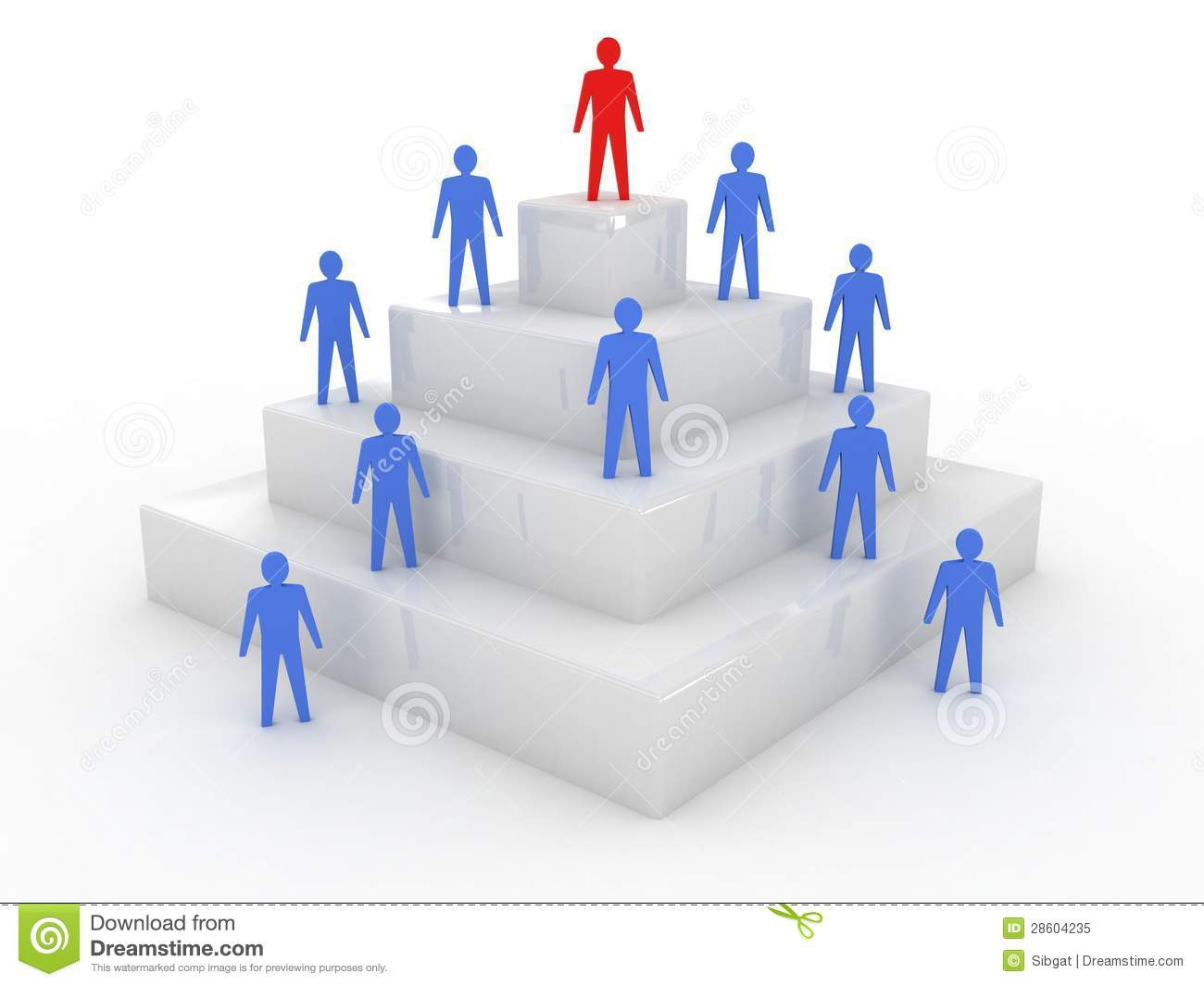 Social Hierarchy. Royalty Free Stock Photo - Image: 28604235