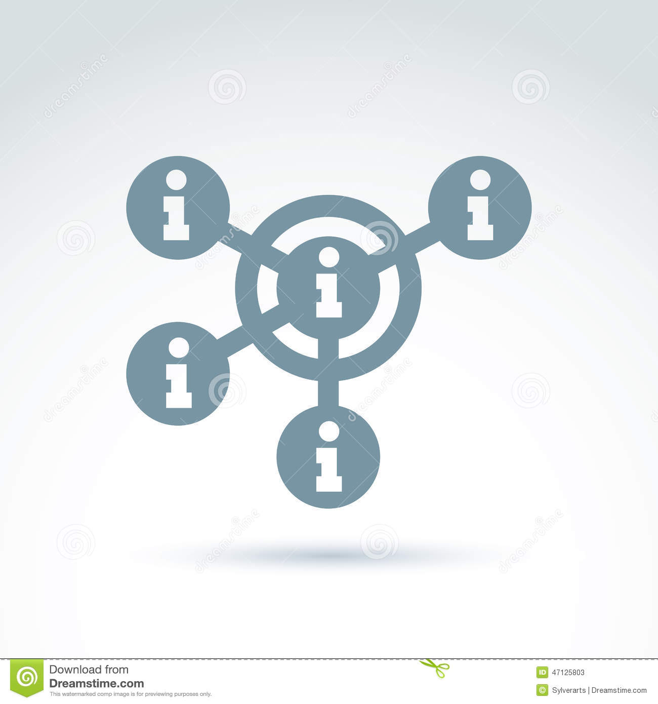 Social Information Collecting And Exchange Theme Icon Social Me