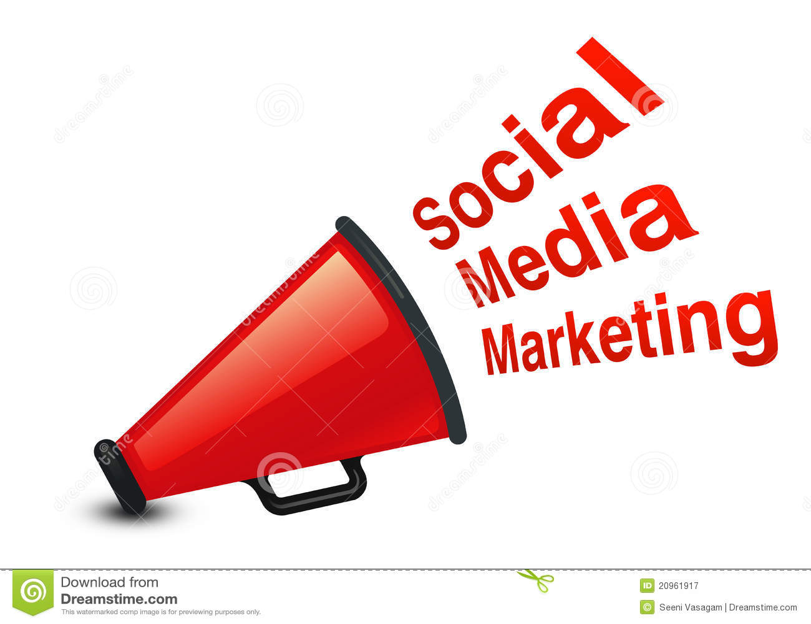 Royalty free stock photography social marketing