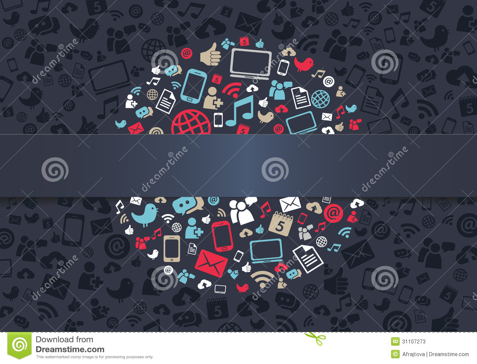 Social massmediabakgrund