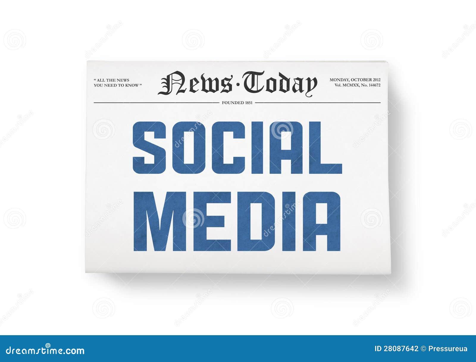 Social massmedianyheterna