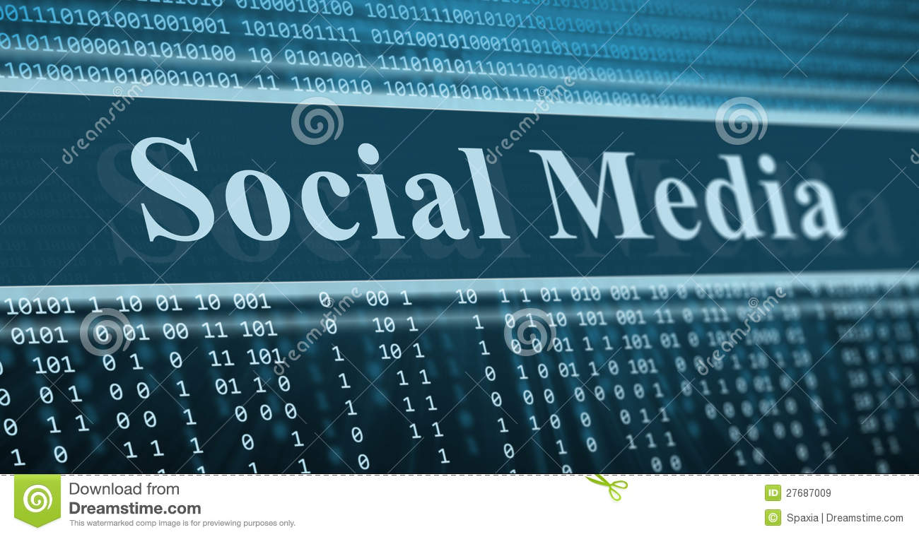 Social media with limited binary options