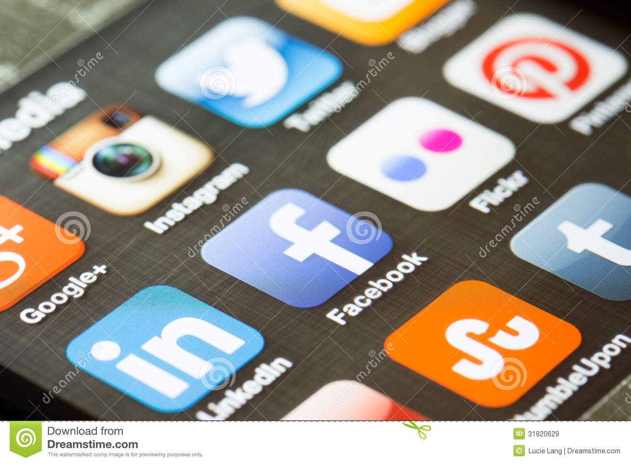 Social media tabbed icons editorial photography image of youtube social media app icons on a smart phone royalty free stock images biocorpaavc