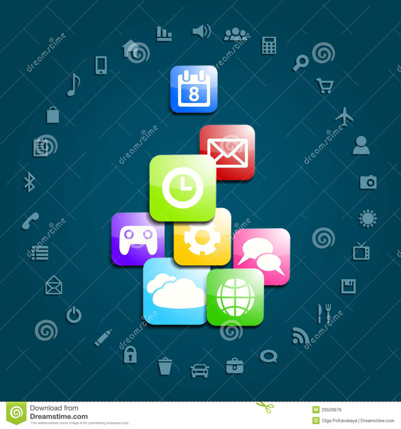 Social Media Background Royalty Free Stock Images - Image ...