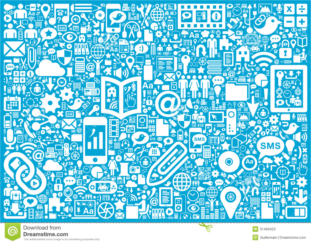 social media background stock vector illustration of data 31469423