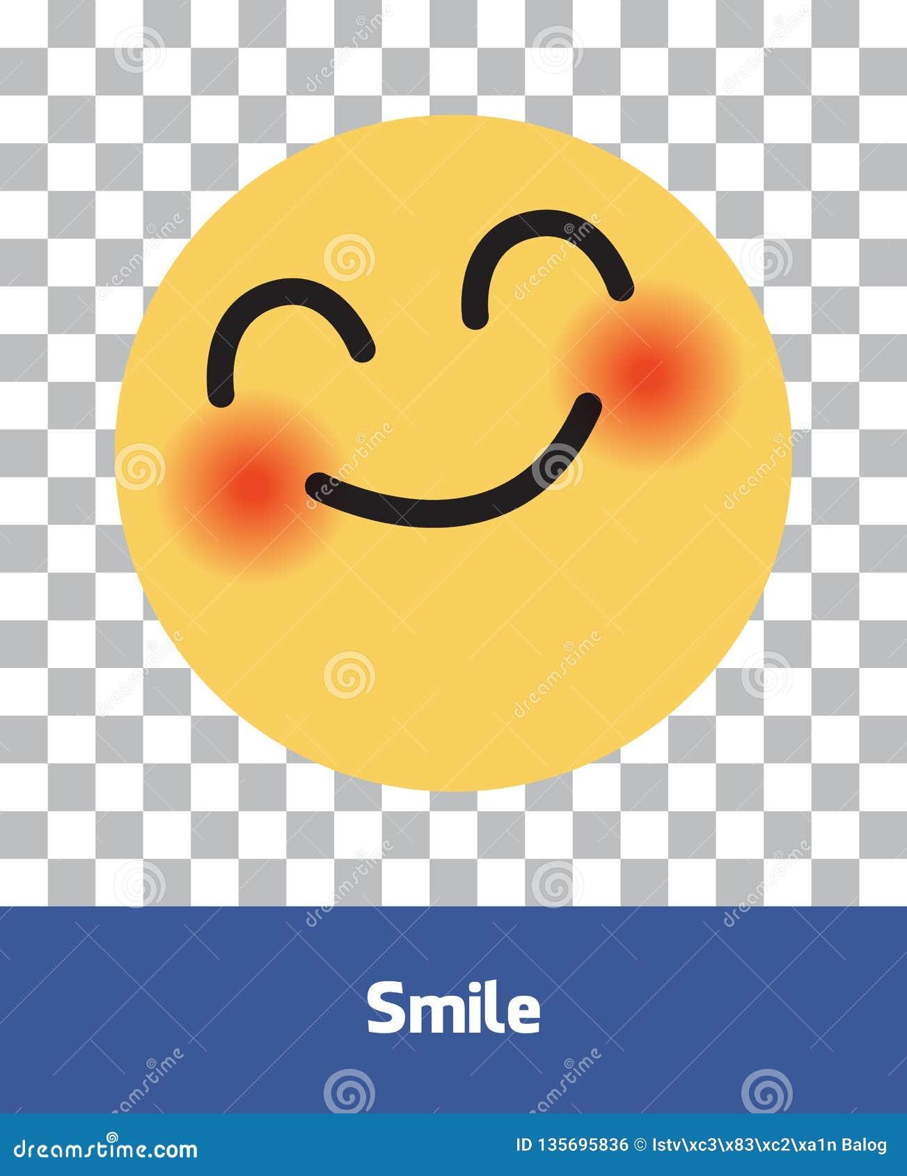 Facebook Emoji Icons  Vector Social Media Background  Vector
