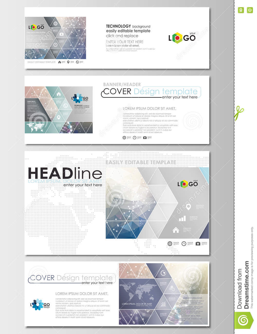 email banner template