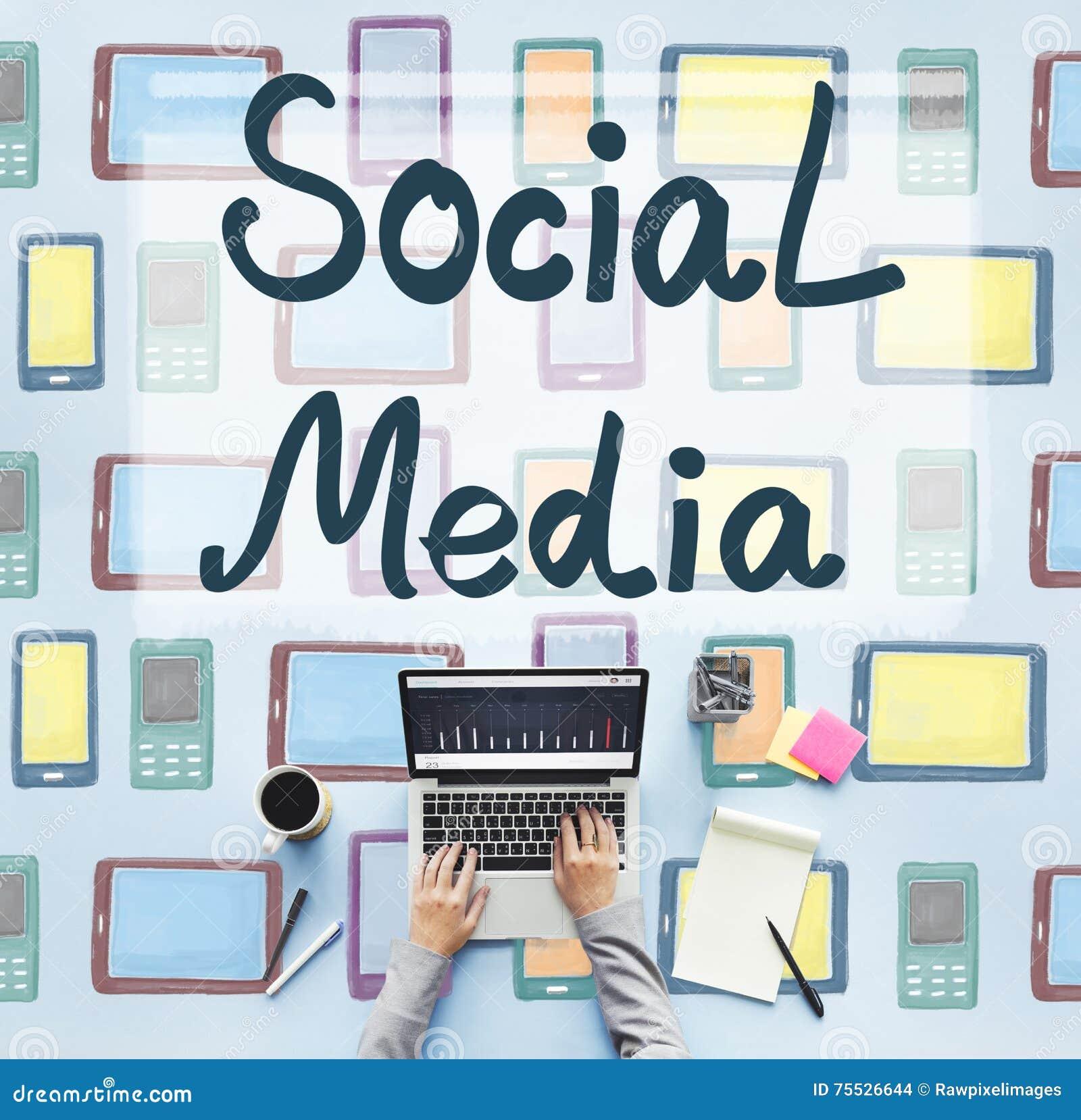 Social Media-Globalisierungs-Verbindungs-Kommunikations-Konzept