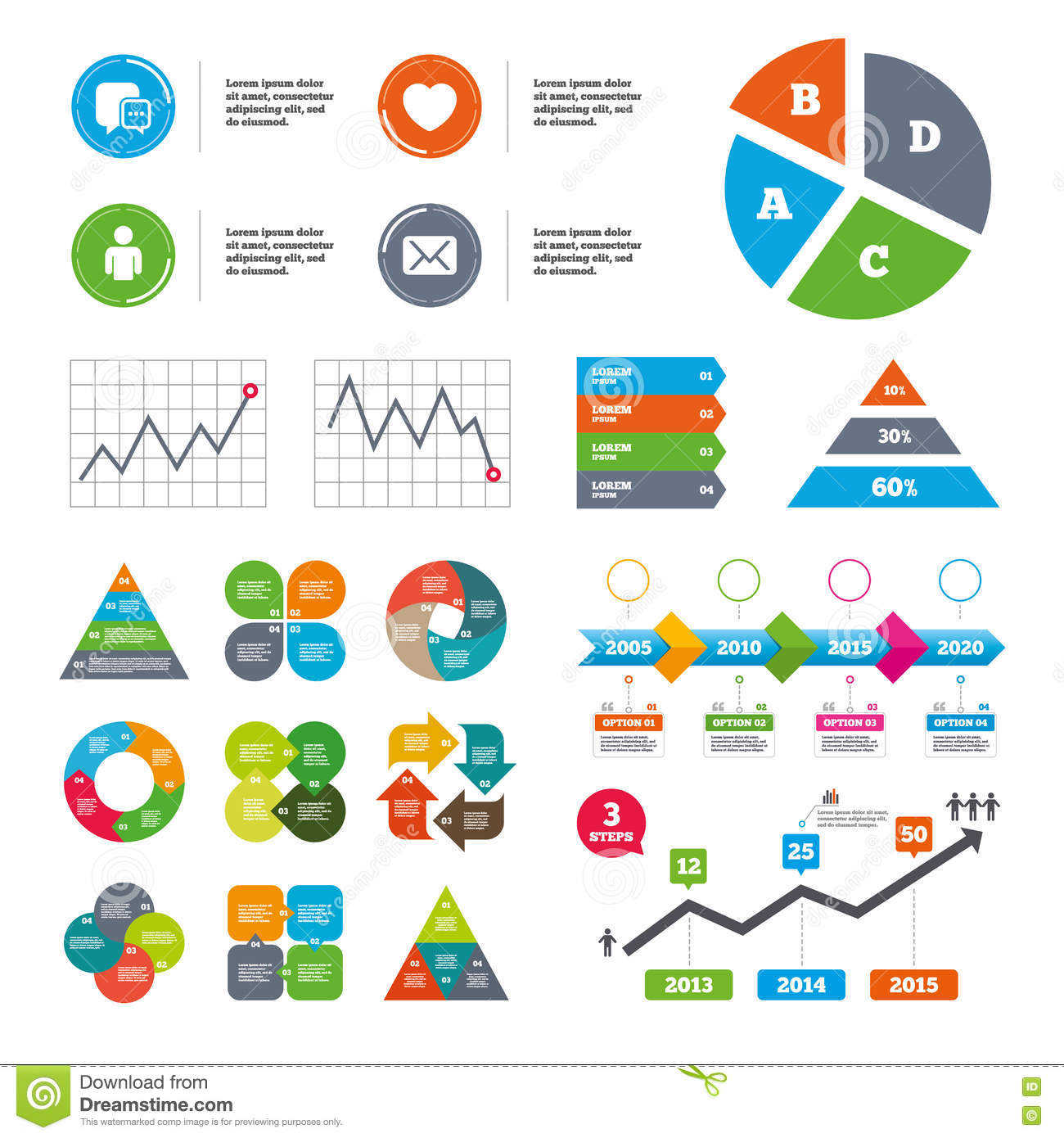Social media icons chat speech bubble and mail stock vector chat speech bubble and mail geenschuldenfo Images