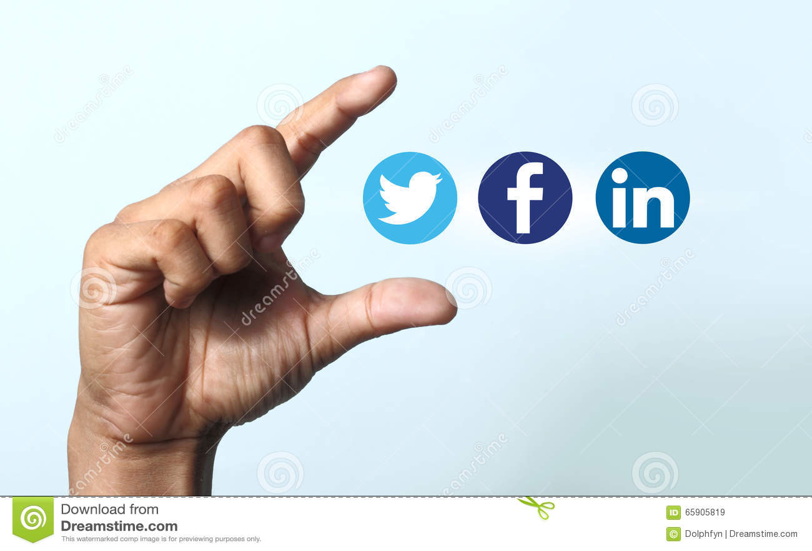 Social Media Icons Editorial Stock Image Illustration Of Symbol