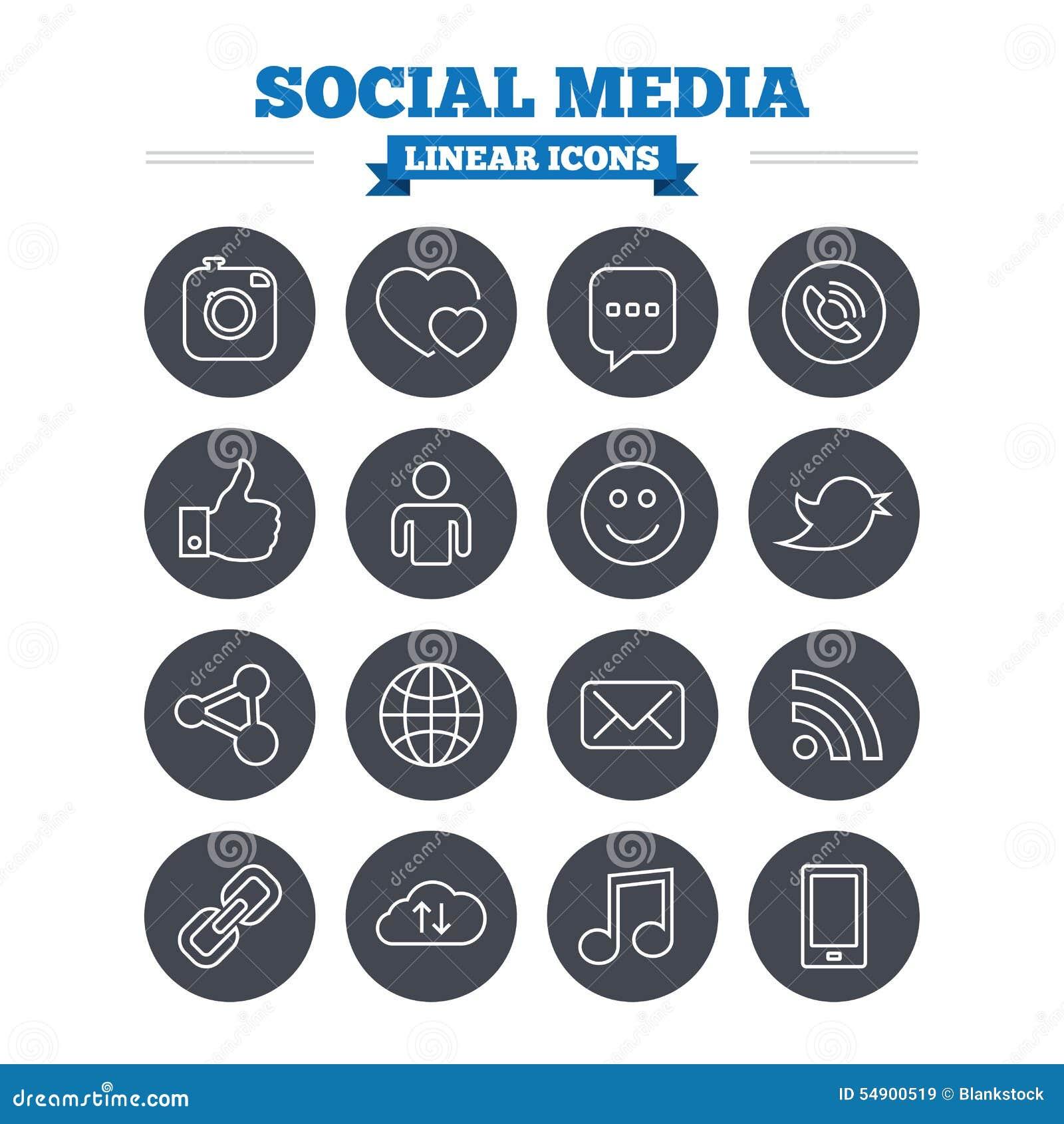 social media speech outline