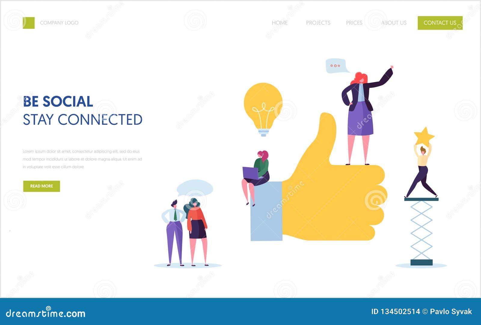 Social Media Marketing Landing Page Template  Agency Team