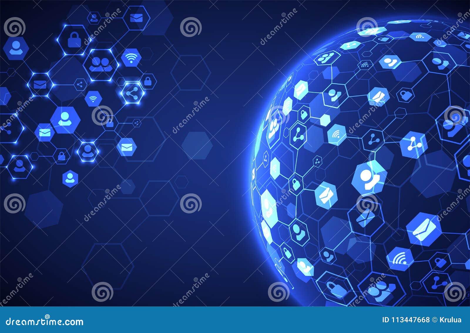Social Media-Vektorhintergrund Vektorabbildung für Auslegung