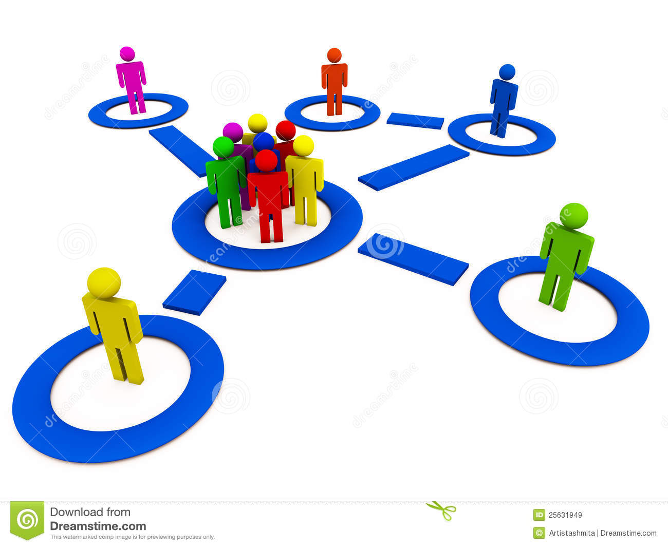 Social Network Community Royalty Free Stock Images Image