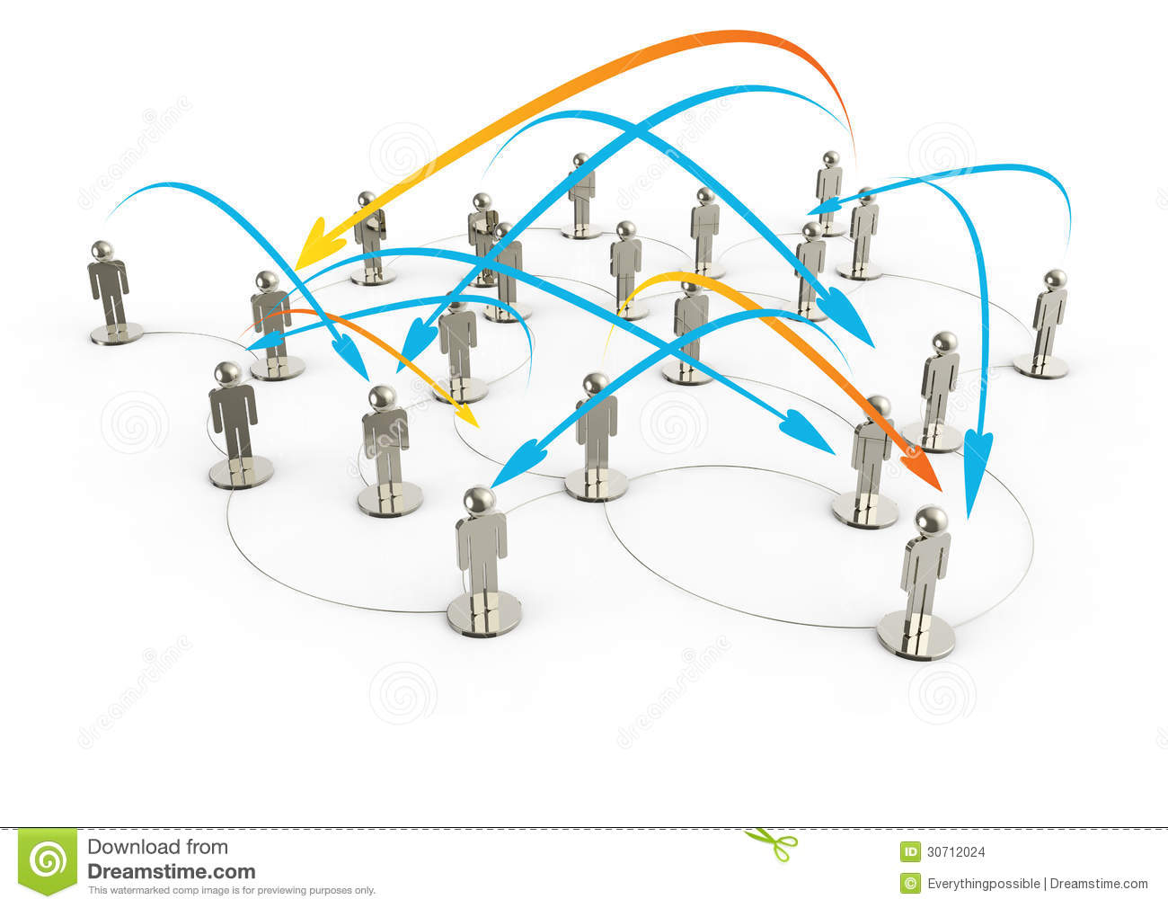 Social Network Human 3d On World Map Stock Illustration Wiring Diagram Download Of Cooperation Contact