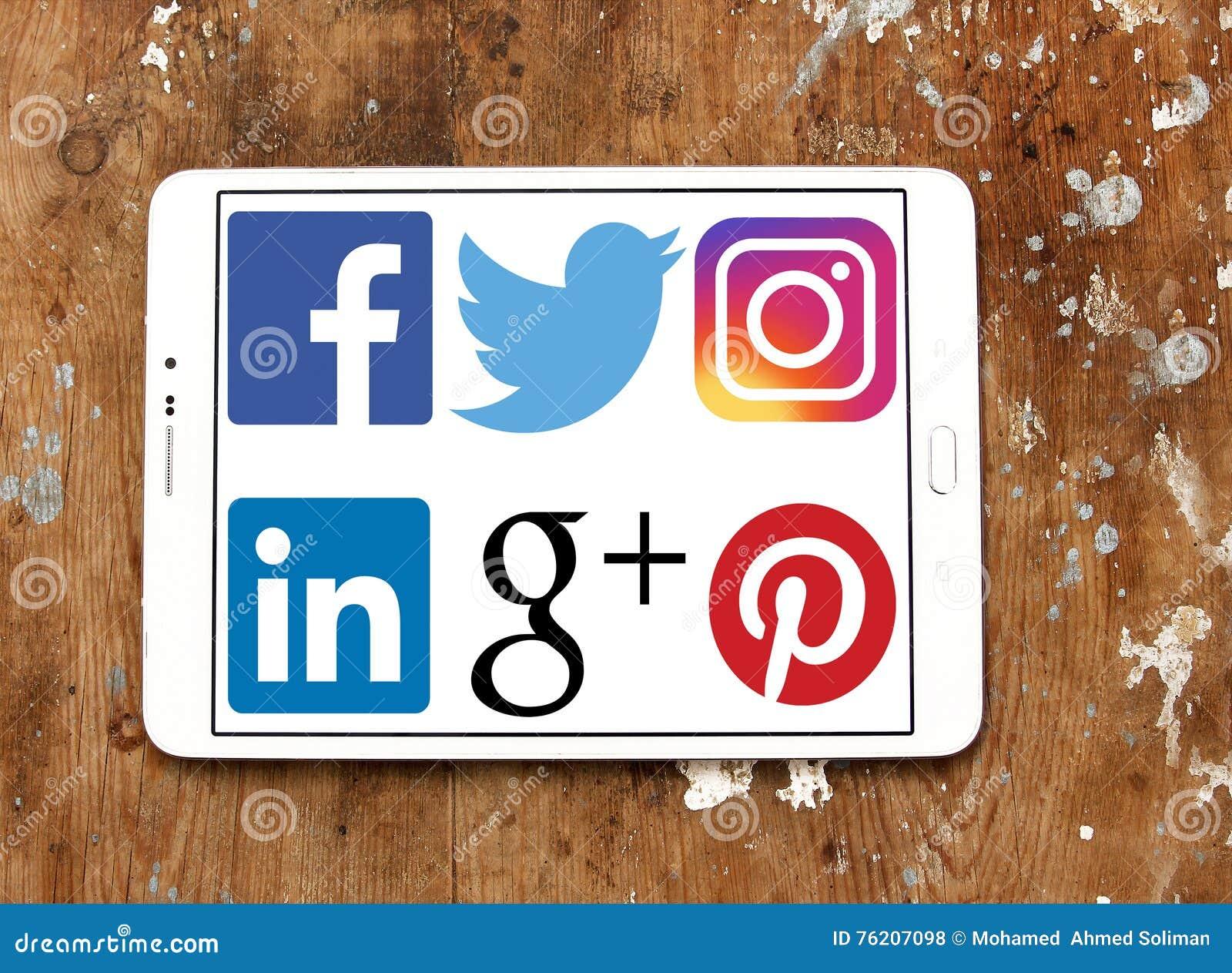 social media network logos