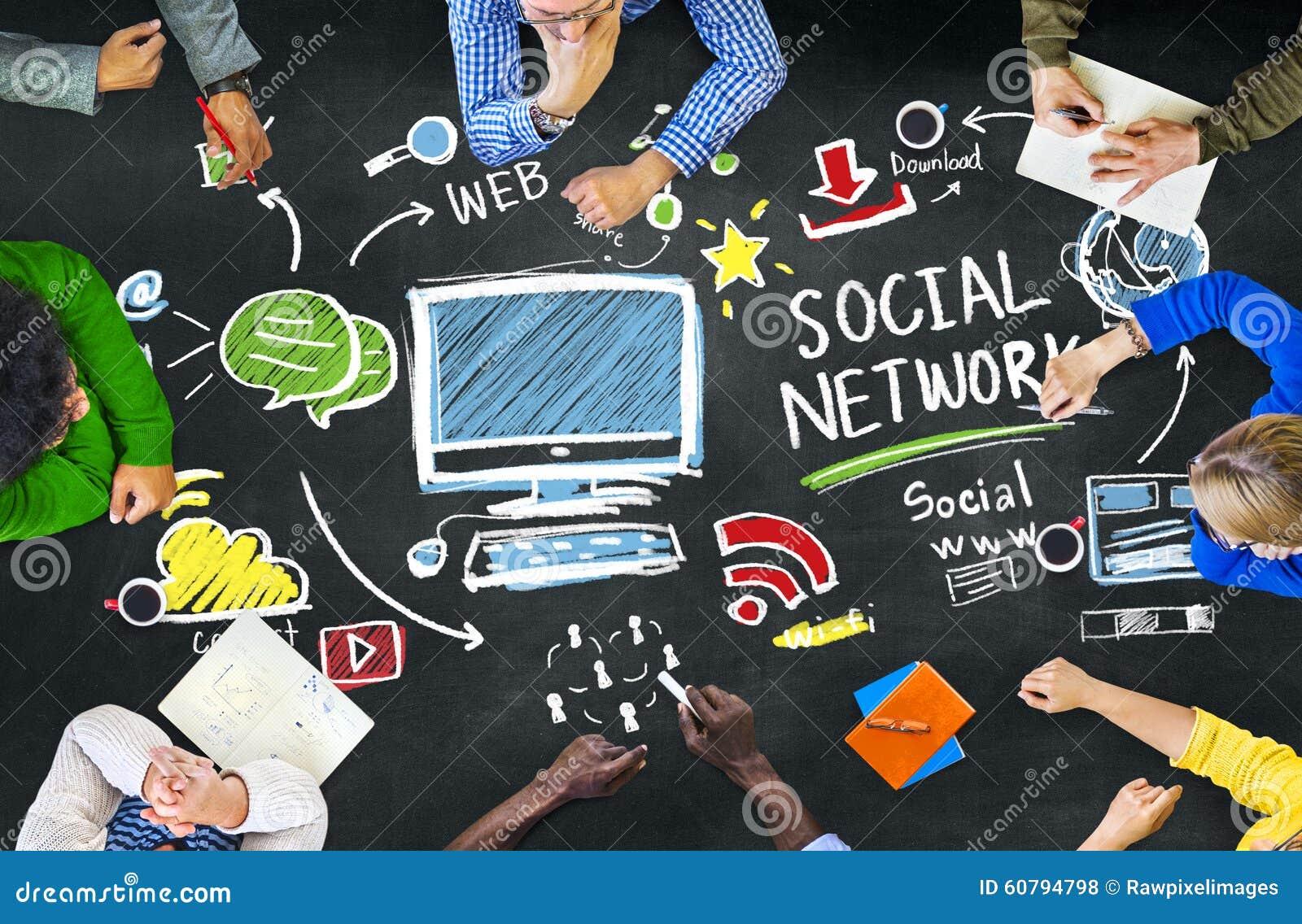 social media to meet people