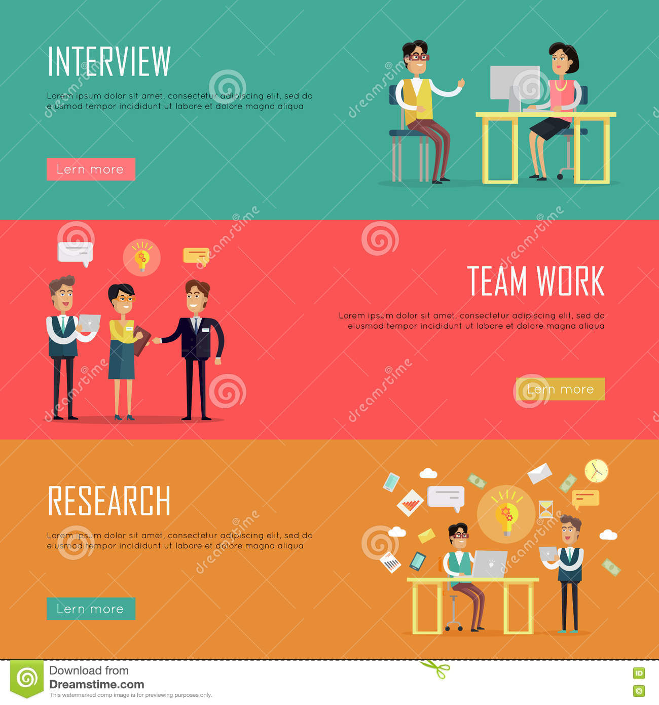 social teamwork concept website design template stock vector social teamwork concept website design template