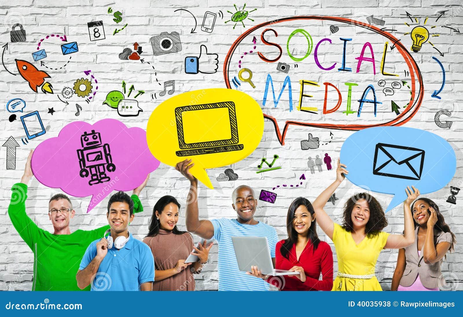 Sociala massmediabegrepp med enperson som tillhör en etnisk minoritet grupp människor