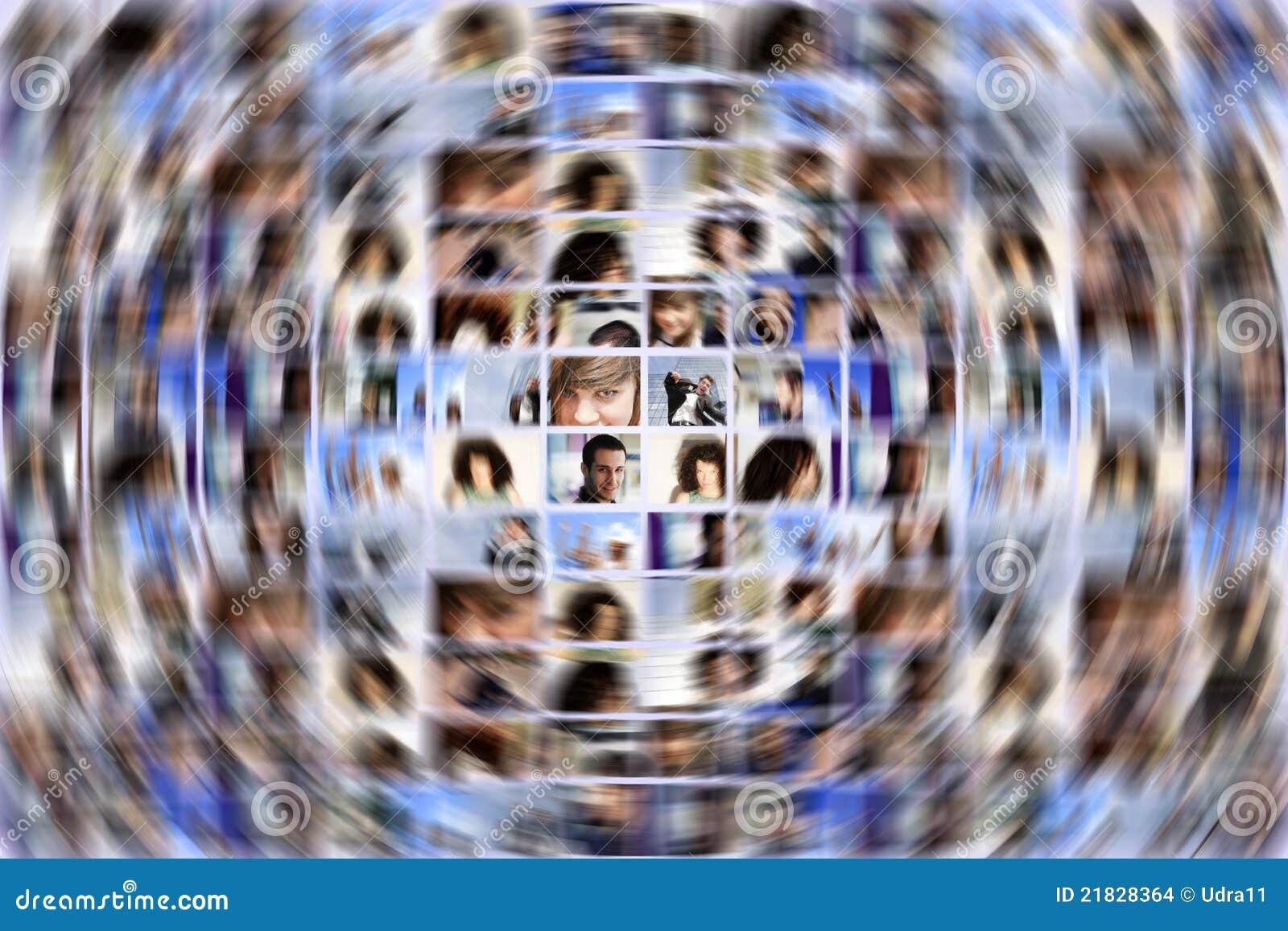 Sociale media uitbreiding