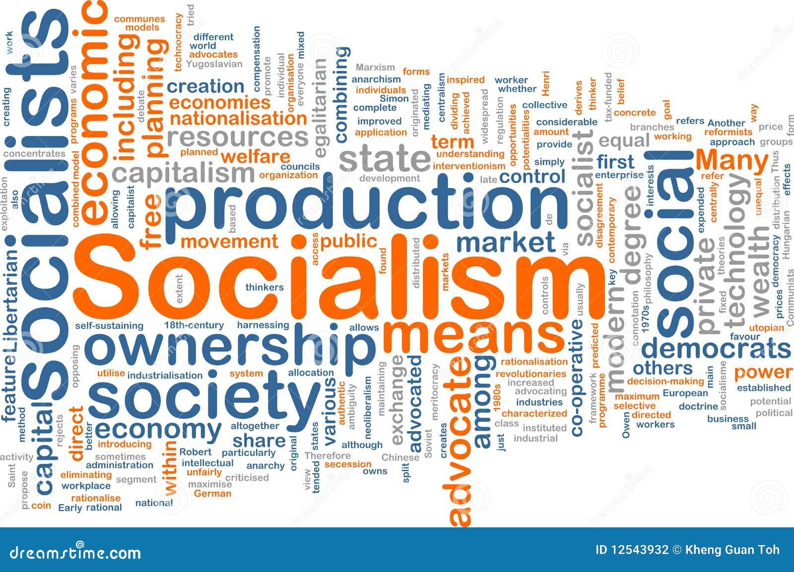 Socialism word cloud  Socialism