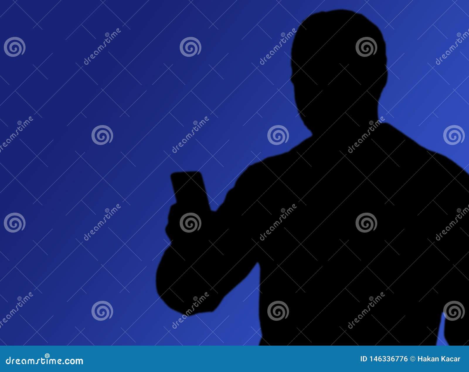 Socialt massmedia, folk som tar bilder med telefonen i hand