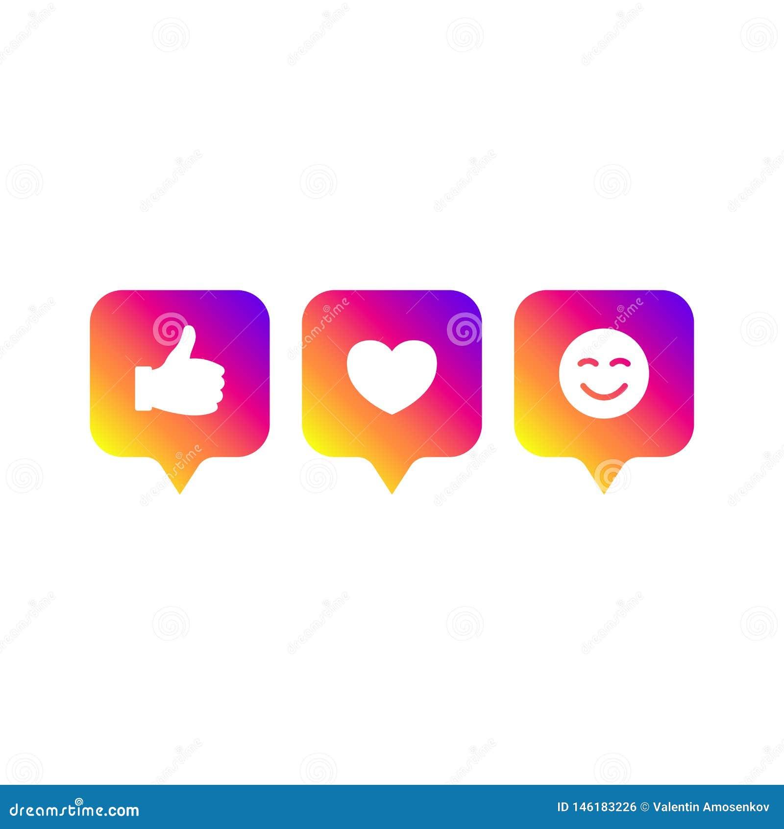 Socialt massmedia som är modernt som 1, anhängare 1, lutningfärg för kommentar 1 Som anhängare, kommentarknapp, symbol, symbol, u