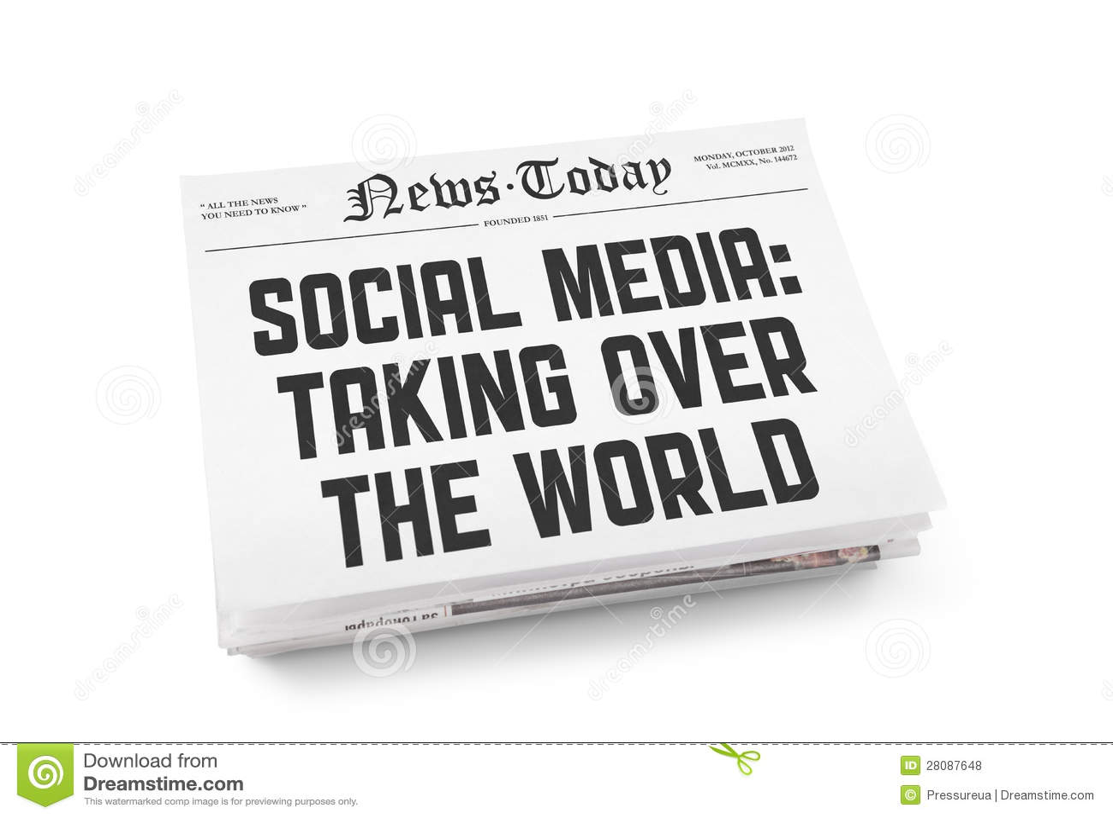 Socialt massmediatidningsbegrepp