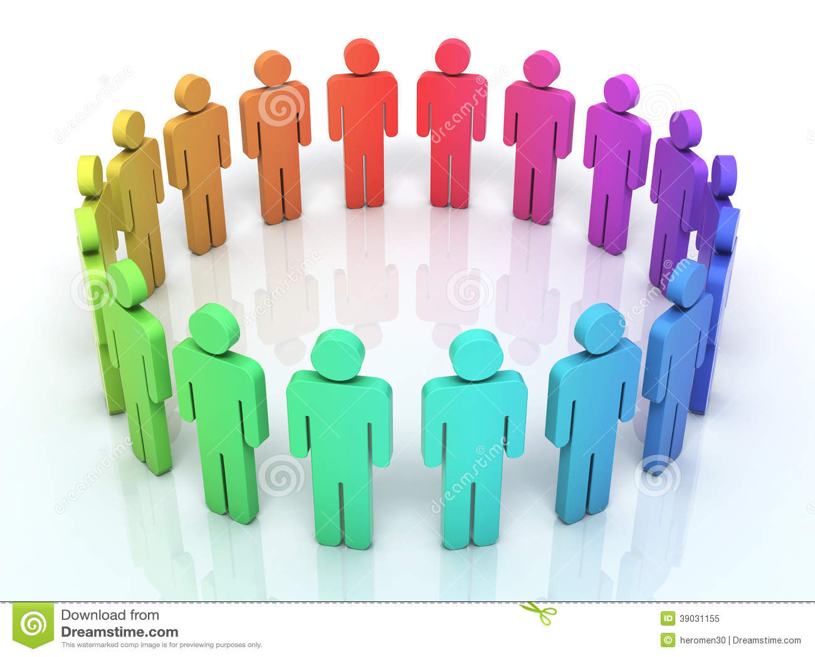 Socialt nätverk för folk