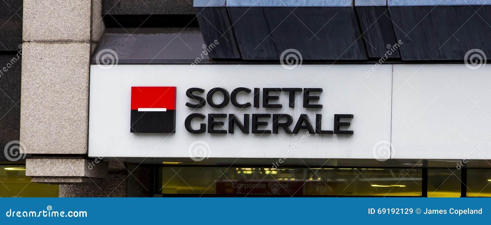Societe generale logo on headquarters building editorial image 21168910 - Societe generale uk head office ...