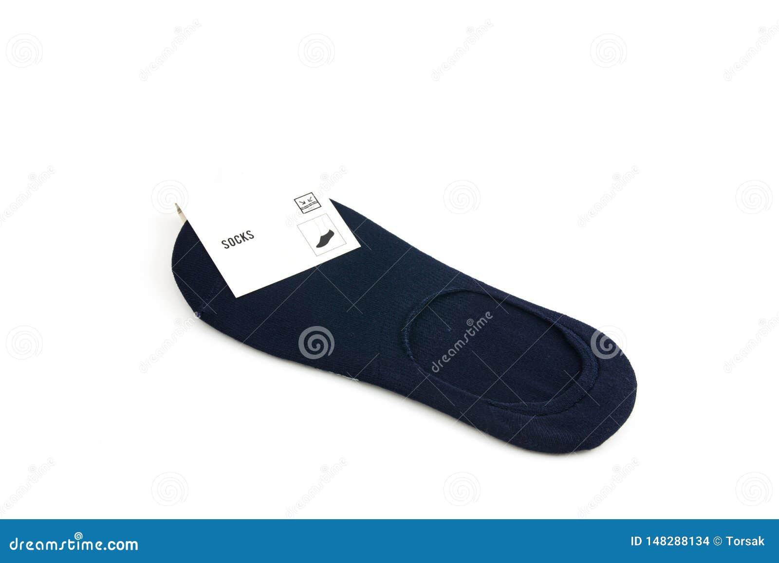 Socke auf wei?em Hintergrund