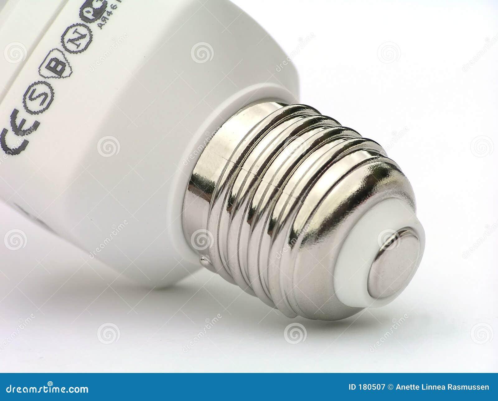 Socket de la bombilla del ahorro de energía