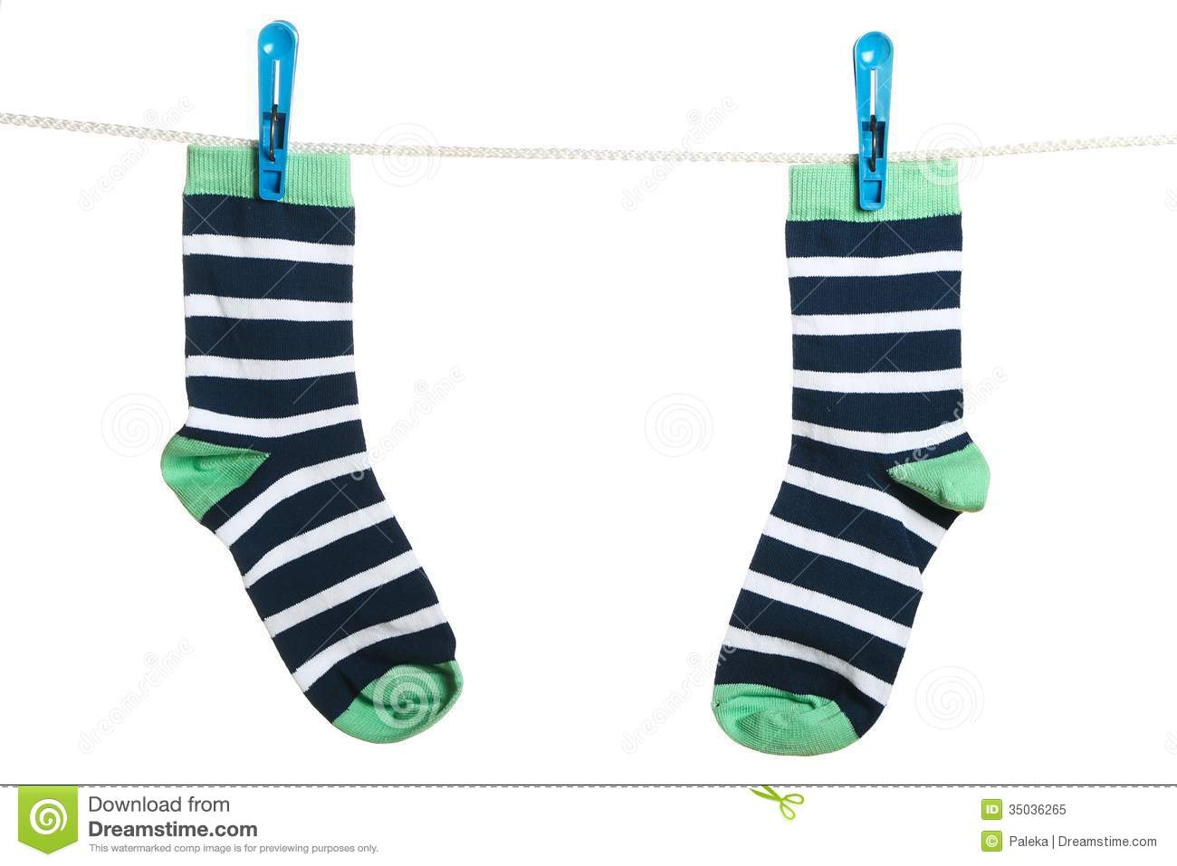 The Socks Royalty Free Stock Photo Image 35036265