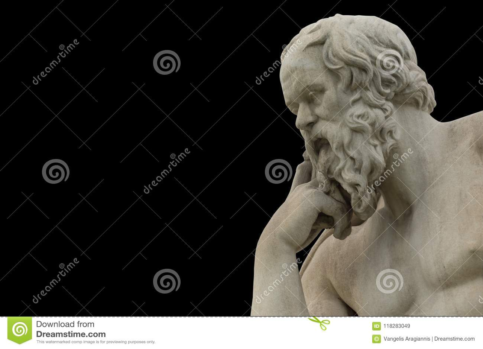 Socrates philoshopher经典雕象