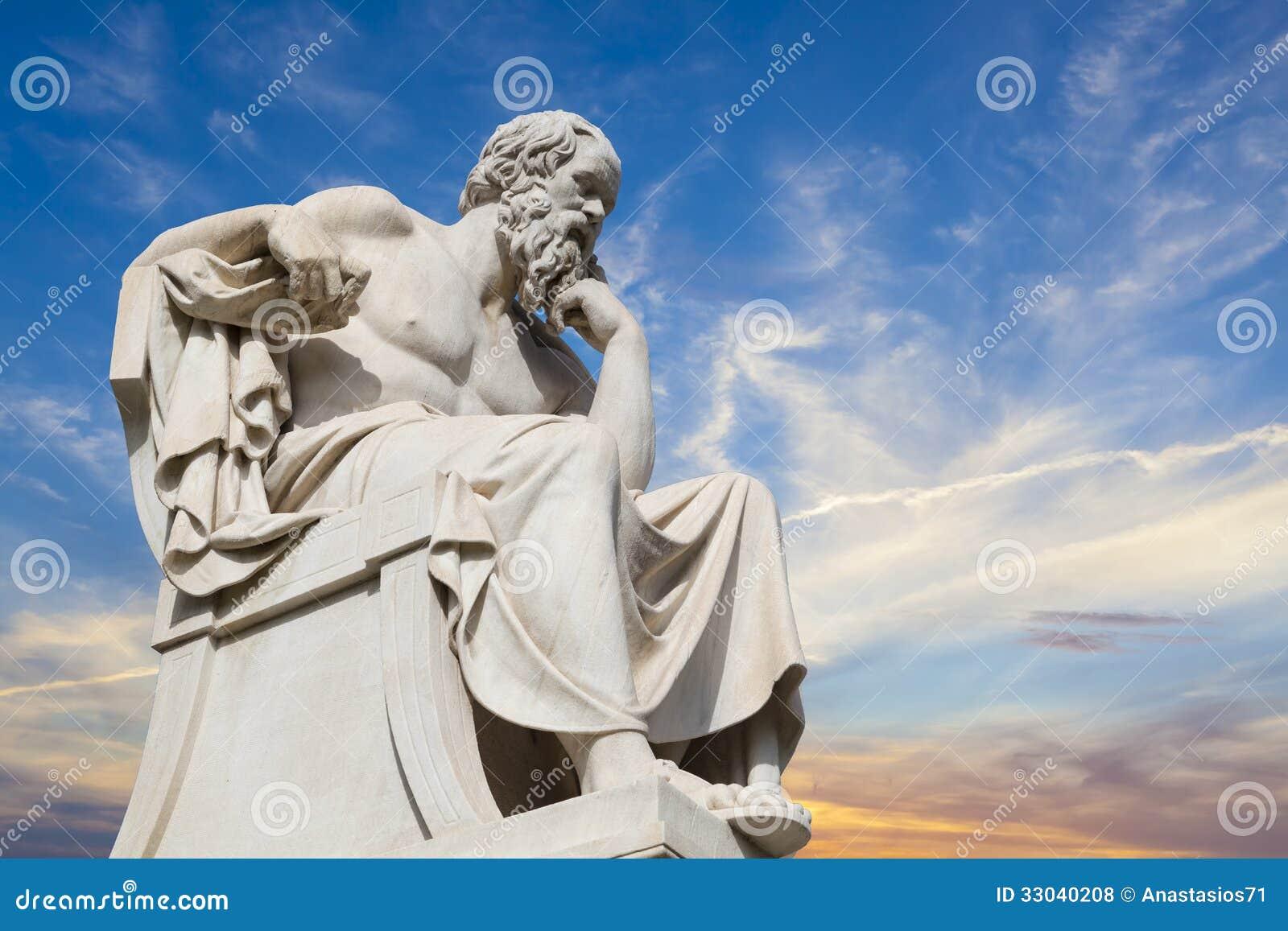 Socrates, philosophe du grec ancien